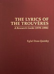 The Lyrics of the Trouvères: A Research Guide (1970–1990)